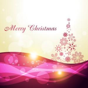 美しいクリスマスの背景+4種+beautiful+christmas+background+vector+イラスト素材3