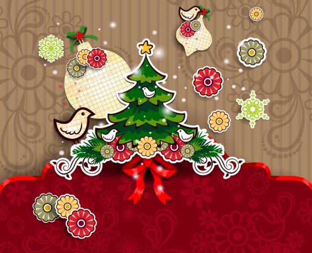 かわいいクリスマスイラスト