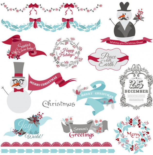 Christmas-vector-design-elements
