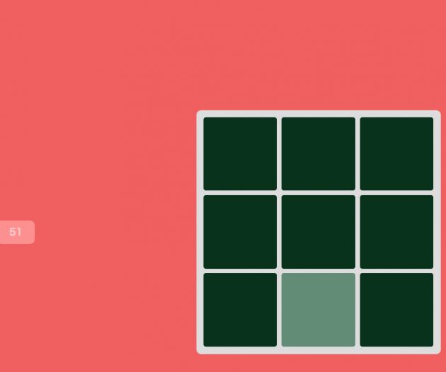 色彩感覚を計るゲーム