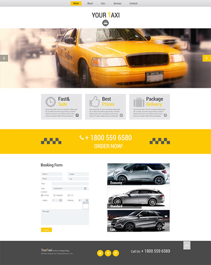 タクシー会社テンプレート