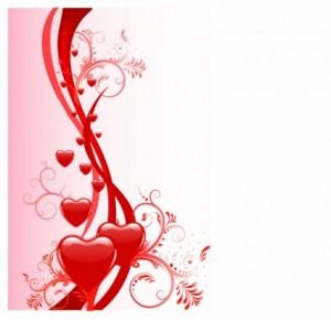 バレンタイン背景素材