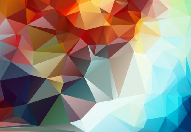 幾何学模様背景素材