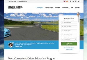 drivingschool:ワードプレス(wordpress)テーマ