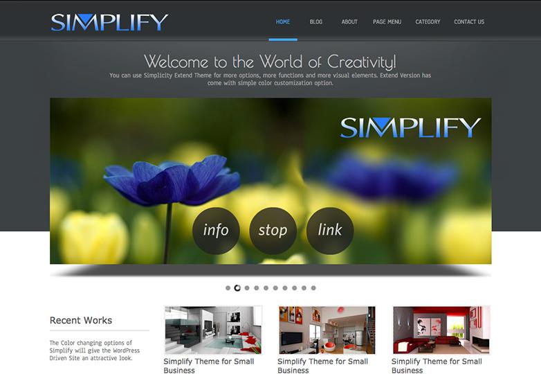 simplify:ワードプレス(wordpress)テーマ