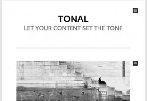 ワードプレステーマ:tonal